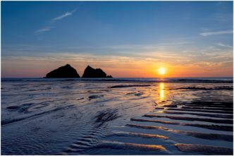 Holywell Bay Cornwall - Captains Rest limited edition framed print by Paul Haddon