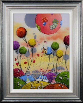 The Great Escape by Dale Bowen Limited Edition print coated in resin with 3D elements