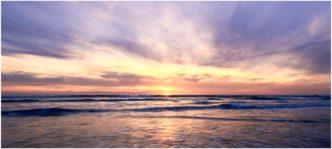 Widemouth Bay Sunset Cornwall framed print by Paul Haddon