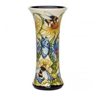 Moorcroft Pottery Bee Kind Vase 159/8