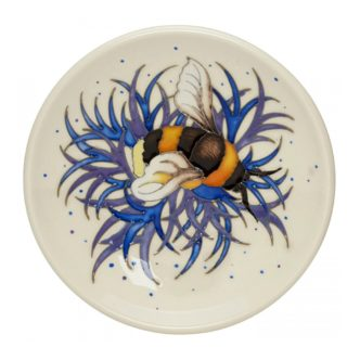 Moorcroft Pottery Broken-Belted Bee Tray