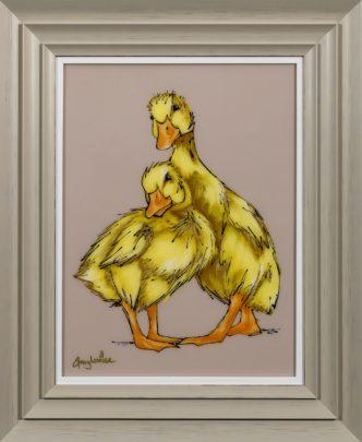 Delilah & Duke Original by Amy Louise Ducklings