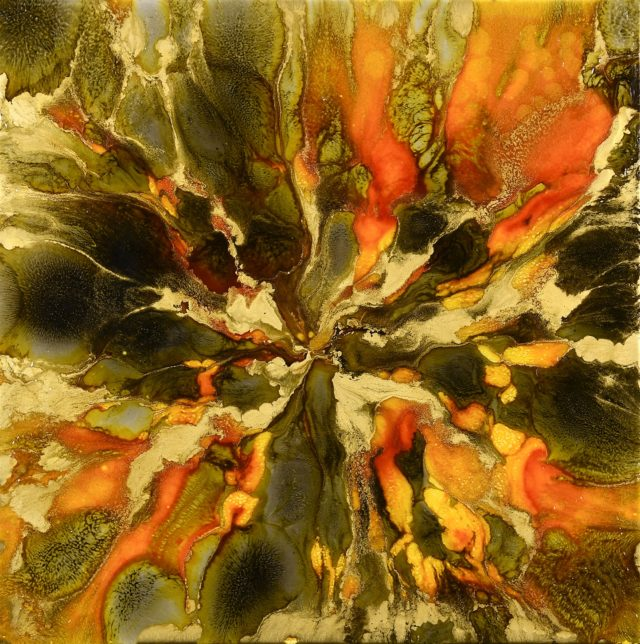 The Final Chapter by Lee Tyler Abstract Art on canvas
