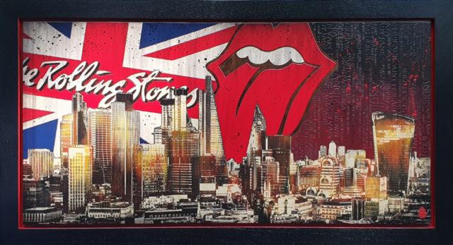 BISH581 London Skyline: The Stones Rob Bishop