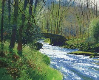 Deep in Dartmoor by Richard Thorn Devon Art