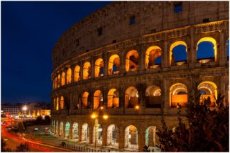 The Coliseum Rome Signed limited edition framed print by Paul Haddon