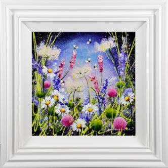 Daisy Chain Roz Bell Original Painting