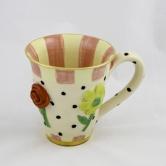 Pressed Flower Mug Large by Mary Rose Young