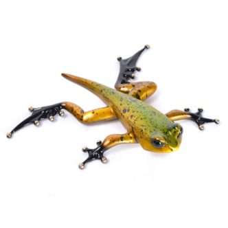 Froglet (Solid Bronze Fro Sculpture) by Tim Cotterill Frogman Torquay Devon
