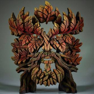 Green Man Autumn Flame by Matt Buckley Edge Sculpture