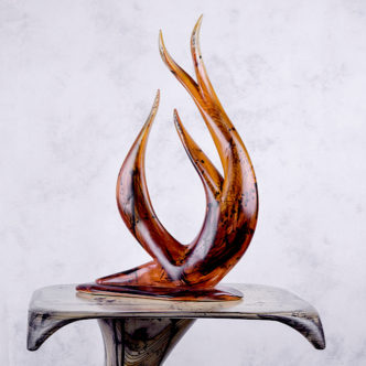 Wood Sculpture by Reg Bishop