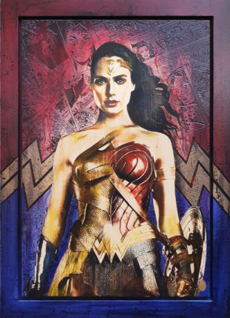 Wonder Woman OV1 by Rob Bishop Art