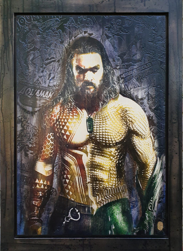 Aquaman OV1 by Rob Bishop art