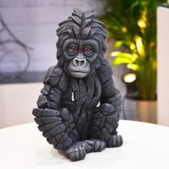 Baby Gorilla by Edge Sculpture