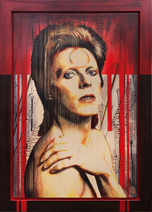 Bowie by Rob Bishop Wood A