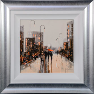City Light Heaven by John Horsewell Original Art