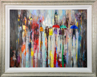 Souls in Motion by Ewa Czarniecka Original Art