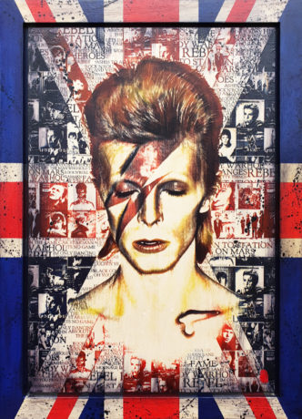 BISH656 Made in Britain: Aladdin Sane Rob Bishop