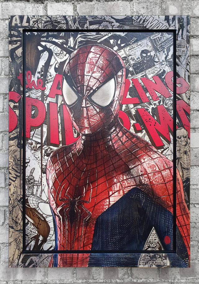 BISH677 Spider-Man Rob Bishop