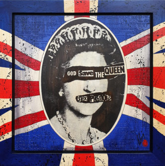 BISH686 God Save The Queen Rob Bishop