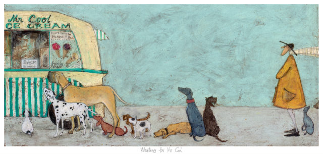 STO-238 Waiting for Mr Cool Sam Toft