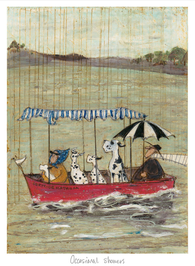 STO-243 Occasional Showers Sam Toft