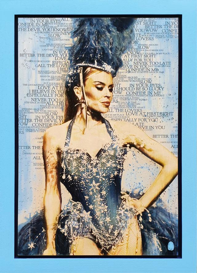 BISH740 Showgirl Kylie Minogue Rob Bishop