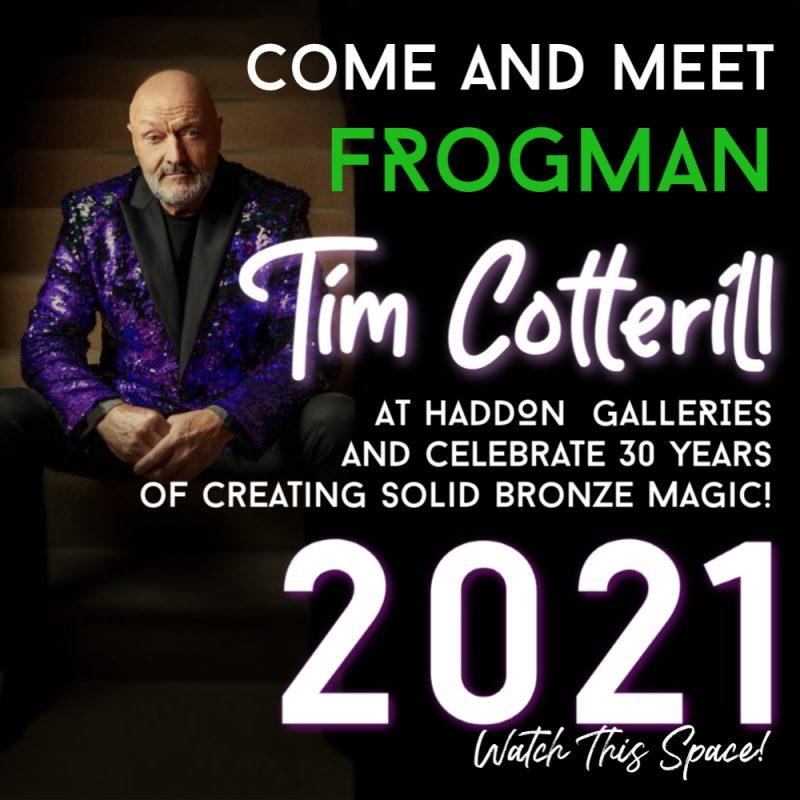 Frogman Exhibition Update Haddon Galleries